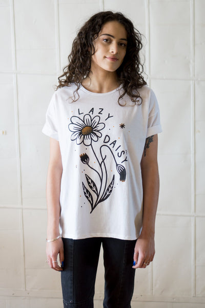 Lazy Daisy Loose Tee