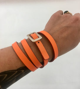 Neon Orange Conversion Belt/Cuff