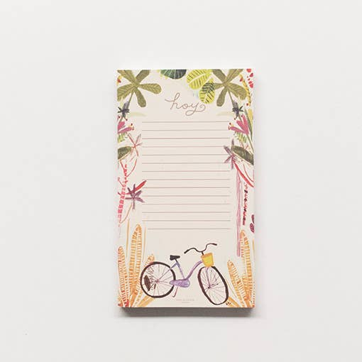 Banana Bike Tear-away Notepad