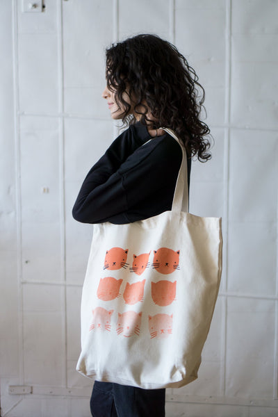 Fading Cats Tote
