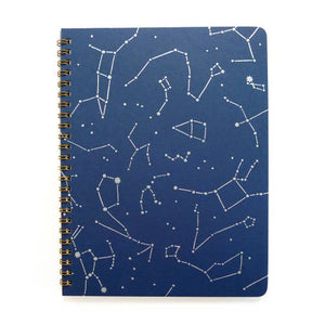 Star Map Coil Notebook