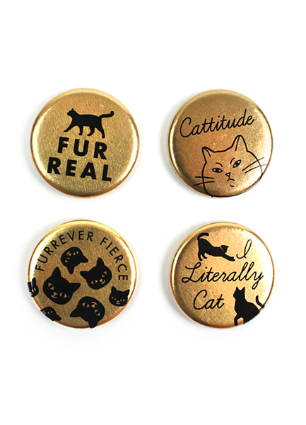 Cattitude Magnet Set