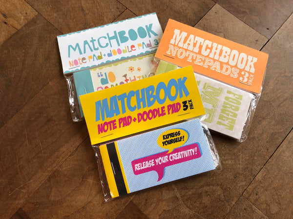 Matchbook Notes 3 Pack