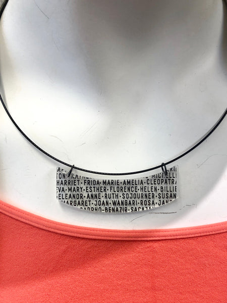 Women of History Necklace