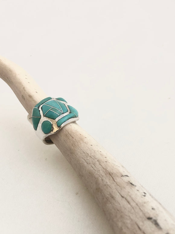 Turquoise Cave Ring