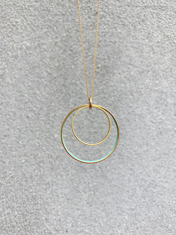 Nested Circle Necklace