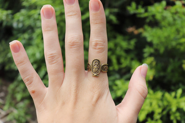 Egyptian Luck Ring