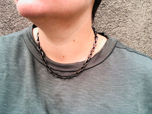 Chain Time Necklace