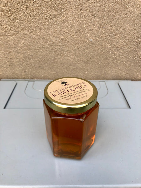 Lavender Pollinated Raw Honey