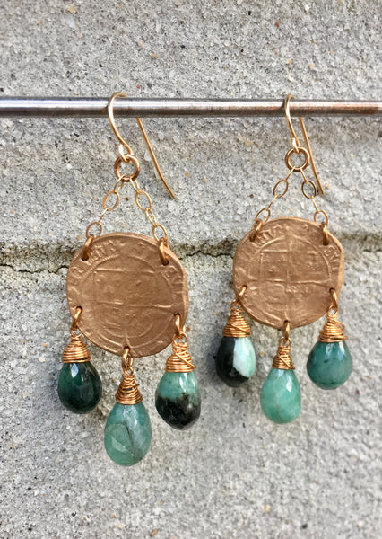 Tudor Chandelier Earrings