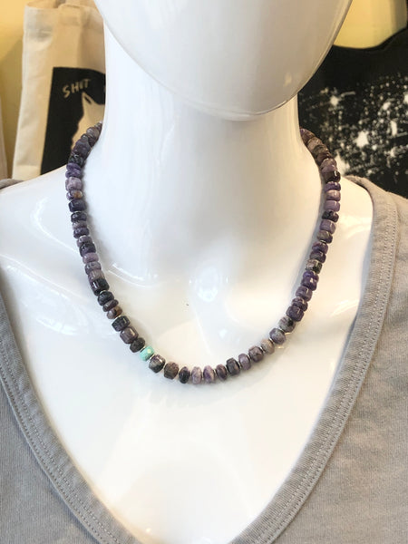 Rare Sugilite Necklace