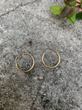 Tiny Gold Hoop Earrings (Multiple options)