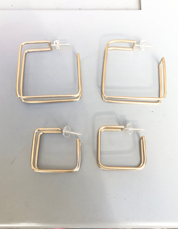 Square Cage Hoops (multiple options)