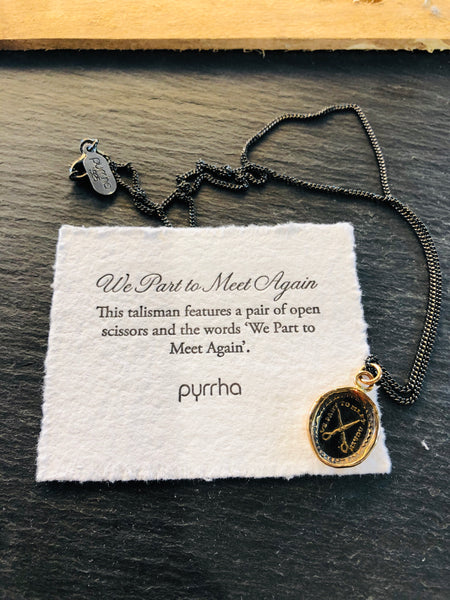 We Part to Meet Again Necklace