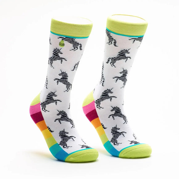 Unicorns & Rainbow Socks