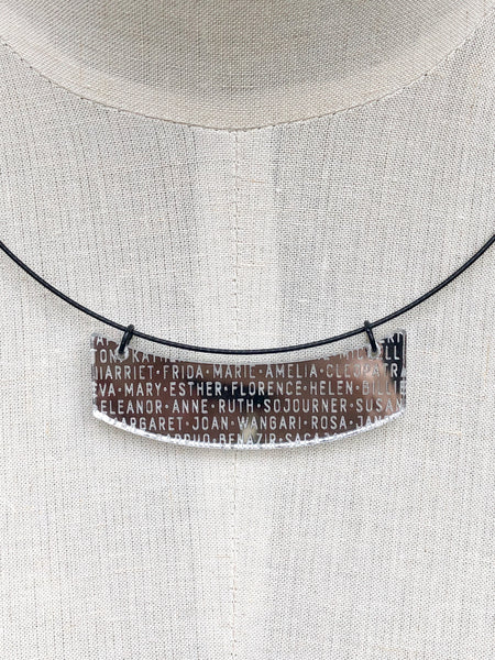 Women of History Necklace (multiple options)