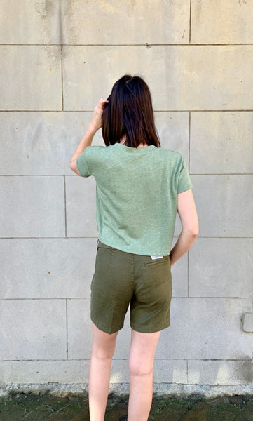 Hunter Green Quinn Shorts