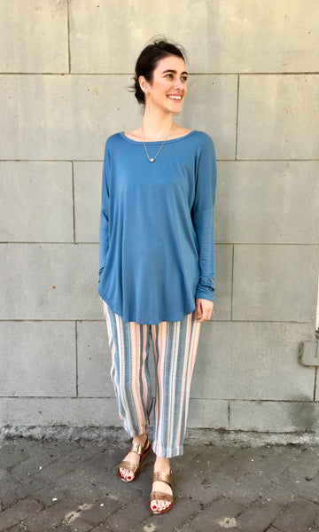 Sky Blue Kara Blouse