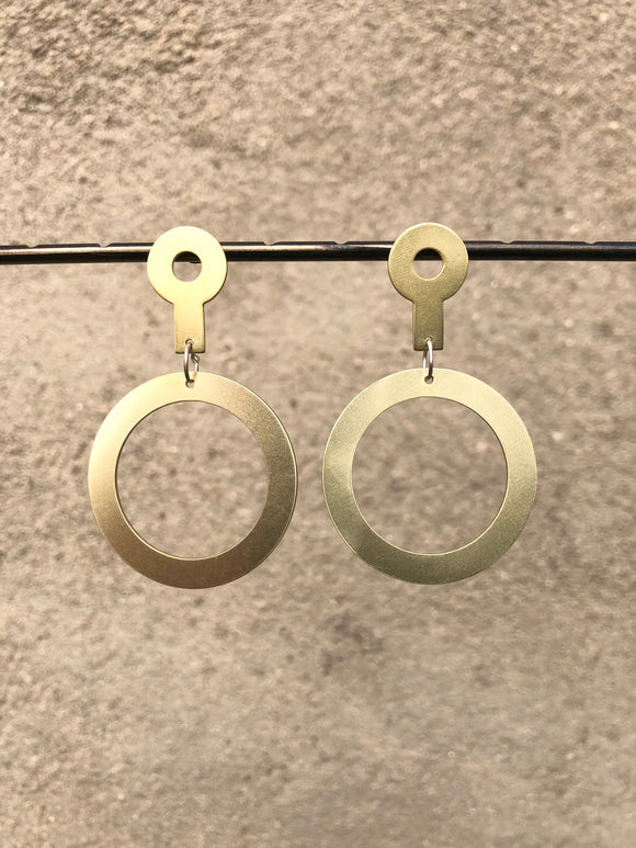 Empty Circle Earrings