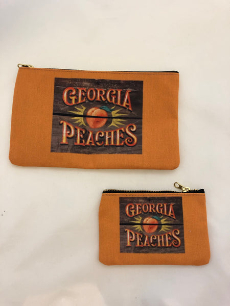 Georgia Peaches Crate Pouch (options)