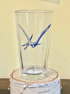 Pterodactyl Pint Glass