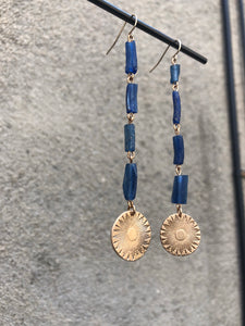 Roman Glass and Summer Sun Earrings