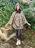 William Morris Golden Flowers Rain Cape