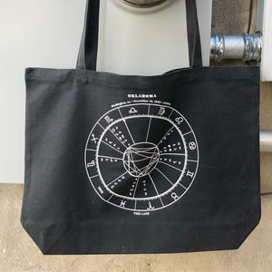 OK Astrology Chart Tote Bag