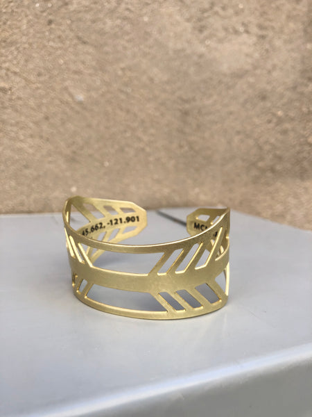 Bridge of the Gods Cuff