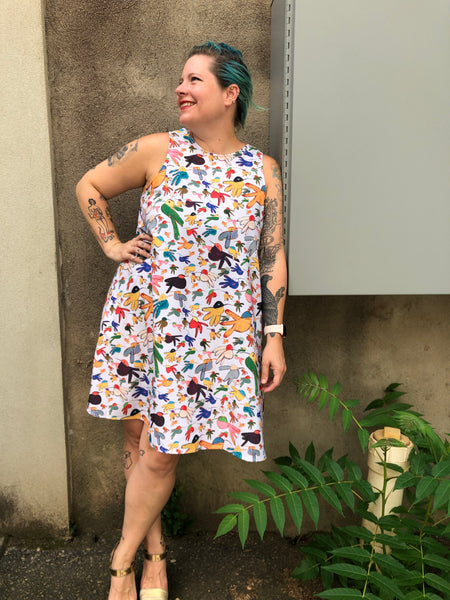 Bold Bird Dress