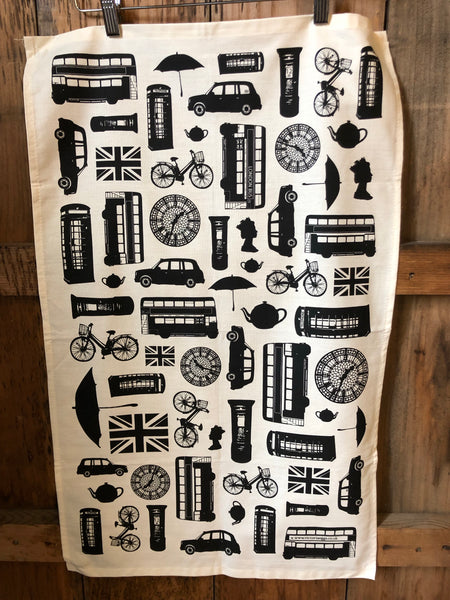 British Invasion Tea Towels