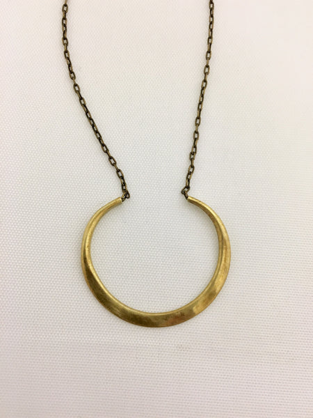 Almost Circle Necklace
