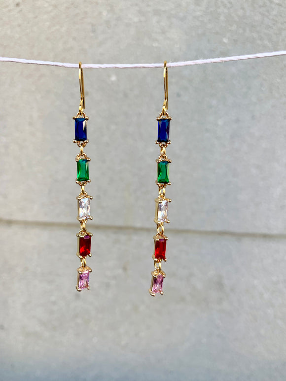 Faceted Crystal Dangles