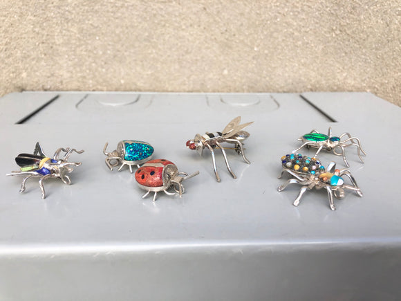 Insect Brooches / Pendants (multiple options)