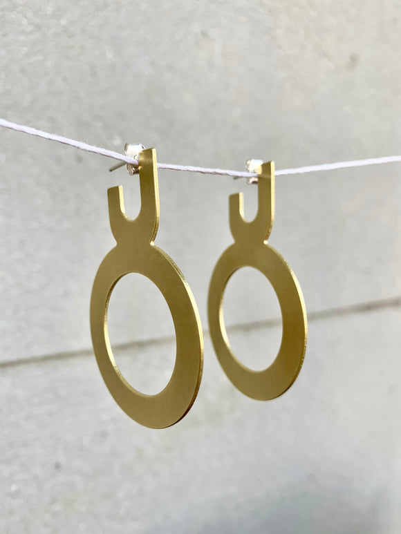 Outer Circle Hoops