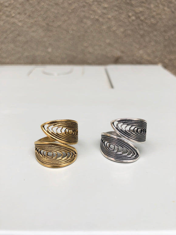 Filigree Swirl Ring (options)