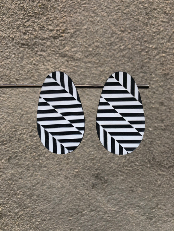 Op Art Earrings (options)