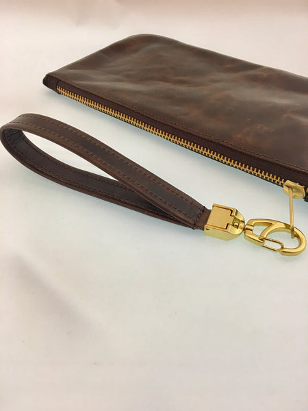 The Custard Wristlet (solid)