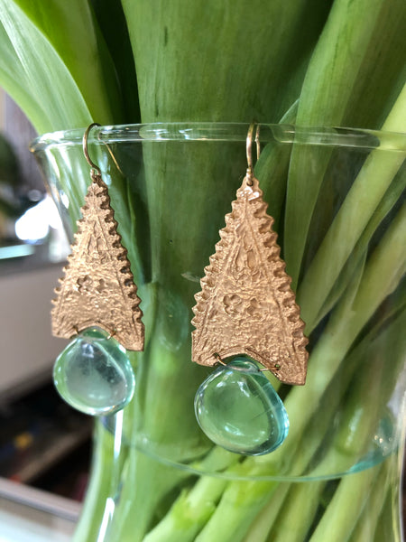 Water Temple Earrings