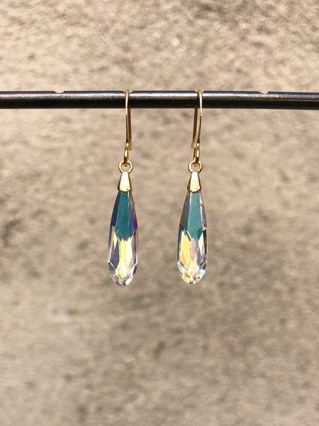 Aurora's Crystal Tears Earrings