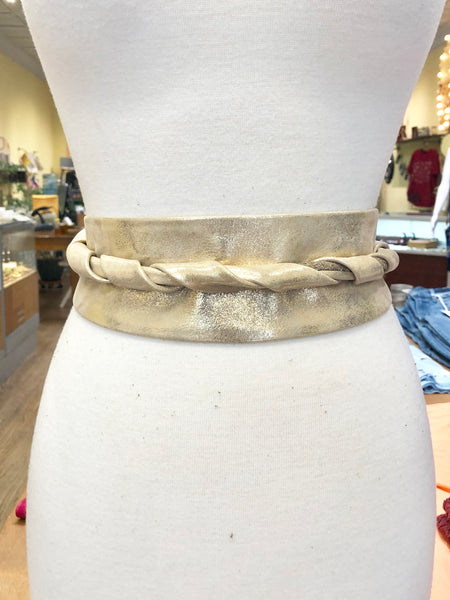 Gold Wrap Belt