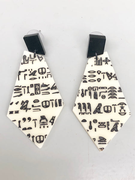 The Rosetta Stone Earrings