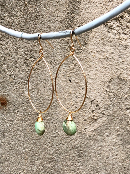 Peruvian Opal Earrings