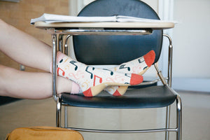 Notey by Nature Socks