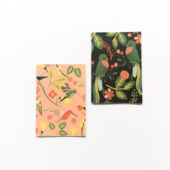 Quetzals and Hummingbirds Journal Set