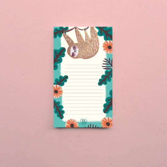 Sloth Tear-away Notepad