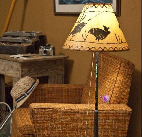 fishing cabin lamp