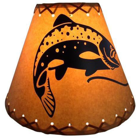 Action Trout Lamp Shade