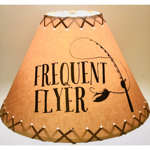 Frequent Flyer Lamp Shade