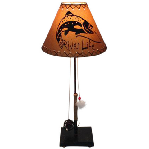 Fly Reel Table Lamp #1384